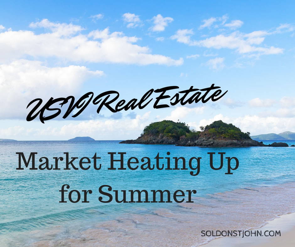 USVI Real Estate Heating Up for Summer
