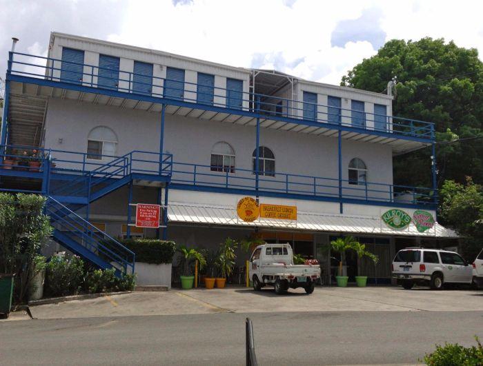 Cruz Bay Commercial Building