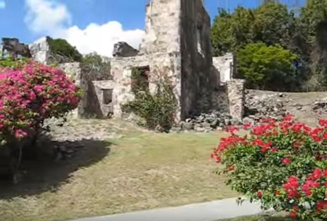 caneel bay st john ruins