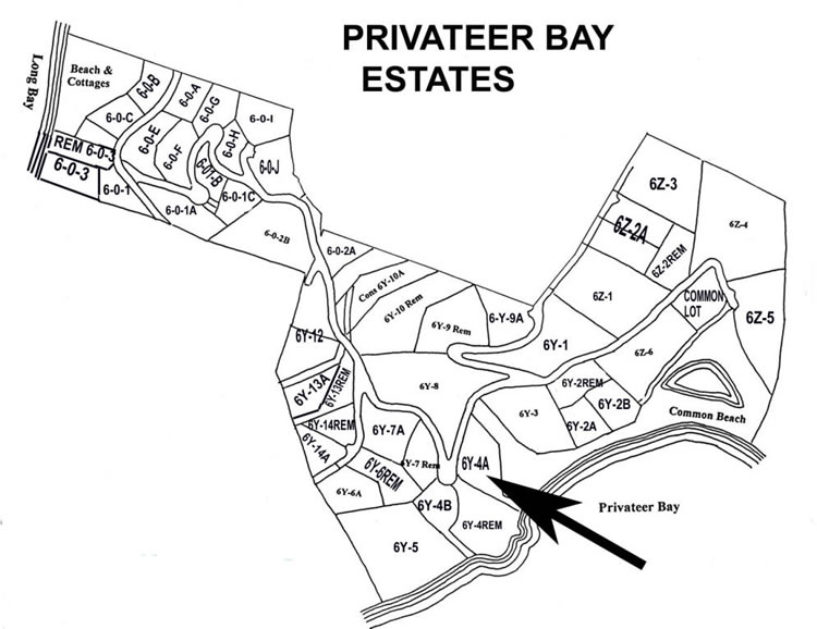 Privateer Bay Estates Land for Sale