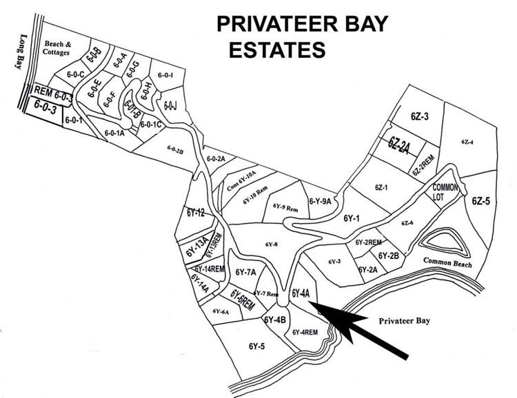 Privateer Bay Estates Land for Sale