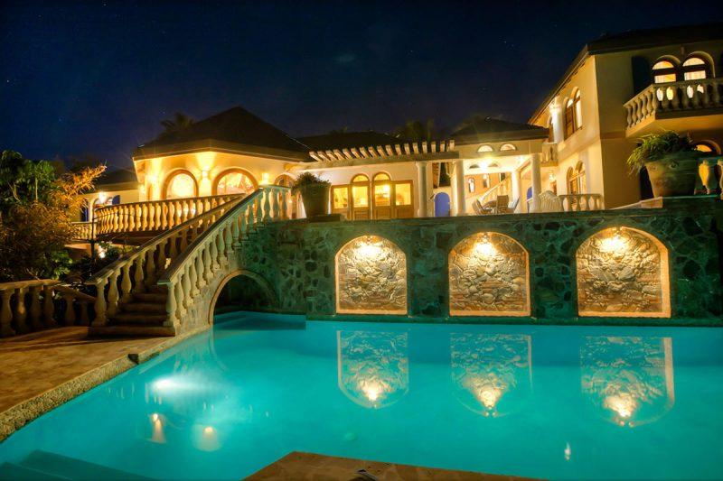 Villa Mistral St John Pool